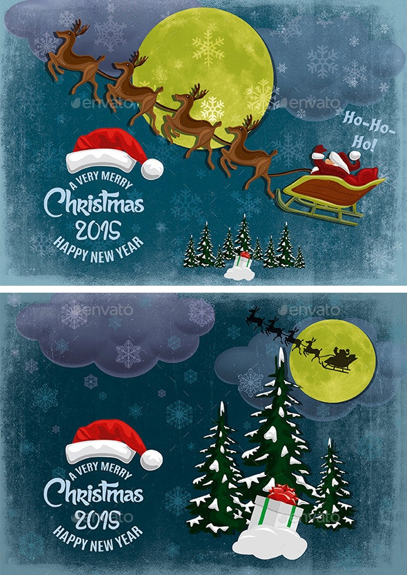 Christmas - Illustrations Graphics