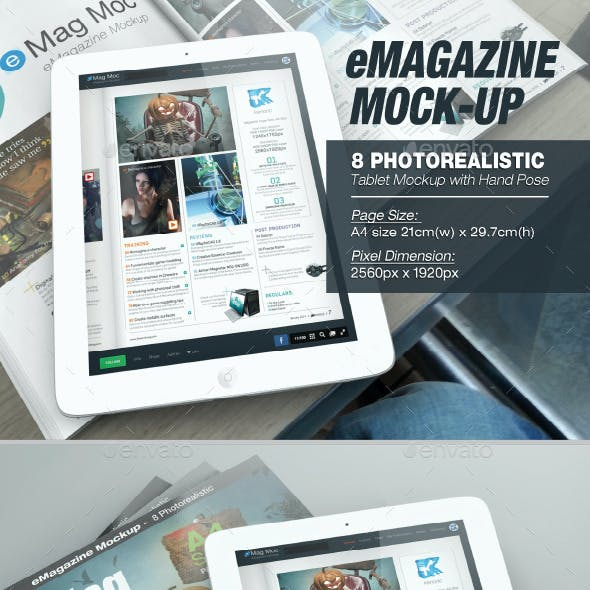 eMagazine Mock-up