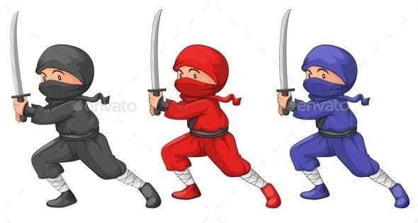 Three Ninjas - People Characters
