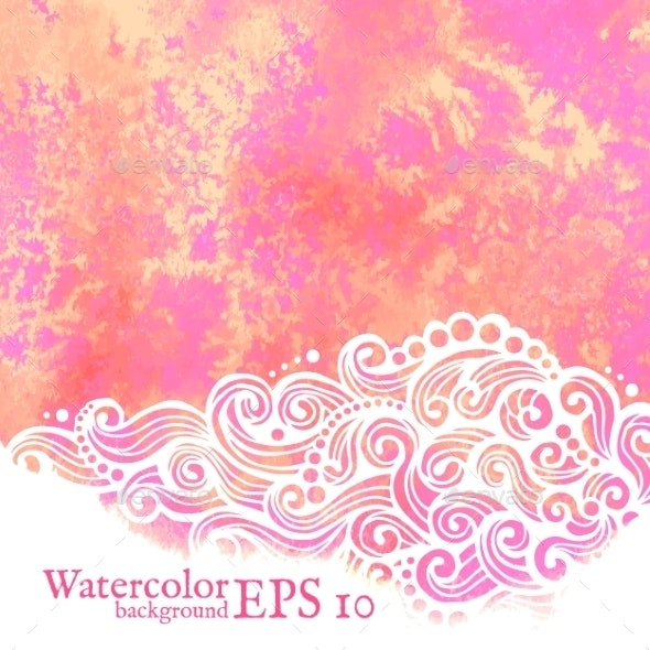 Watercolor Background - Backgrounds Decorative