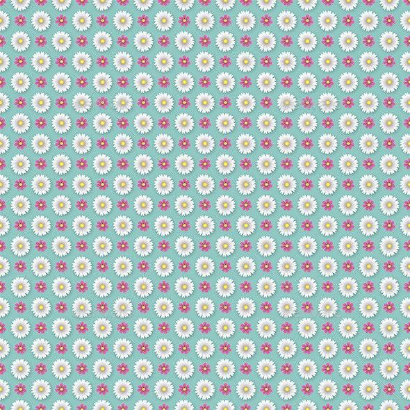 Flower Wallpaper Pattern - Backgrounds Decorative