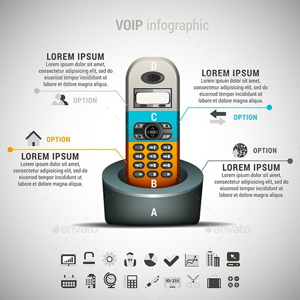 VOIP Infographic - Infographics