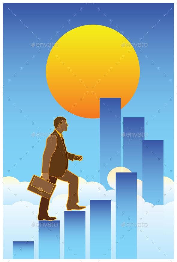 High Success - Business Conceptual