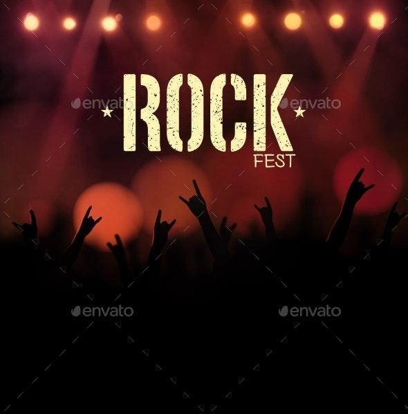Rock Festival - Backgrounds Decorative