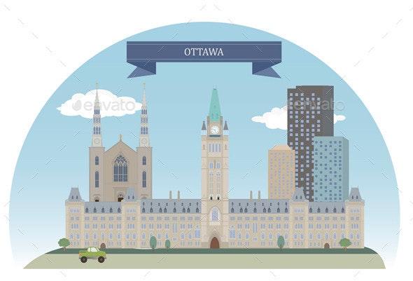 Ottawa  - Buildings Objects