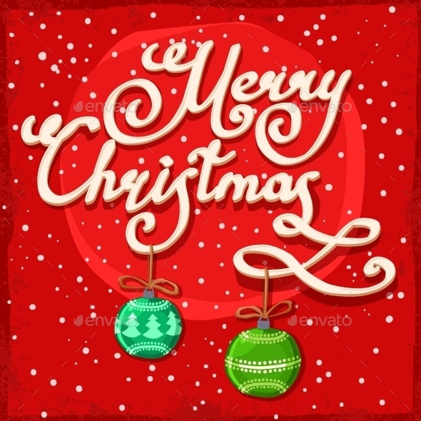 Christmas Background Template - Christmas Seasons/Holidays