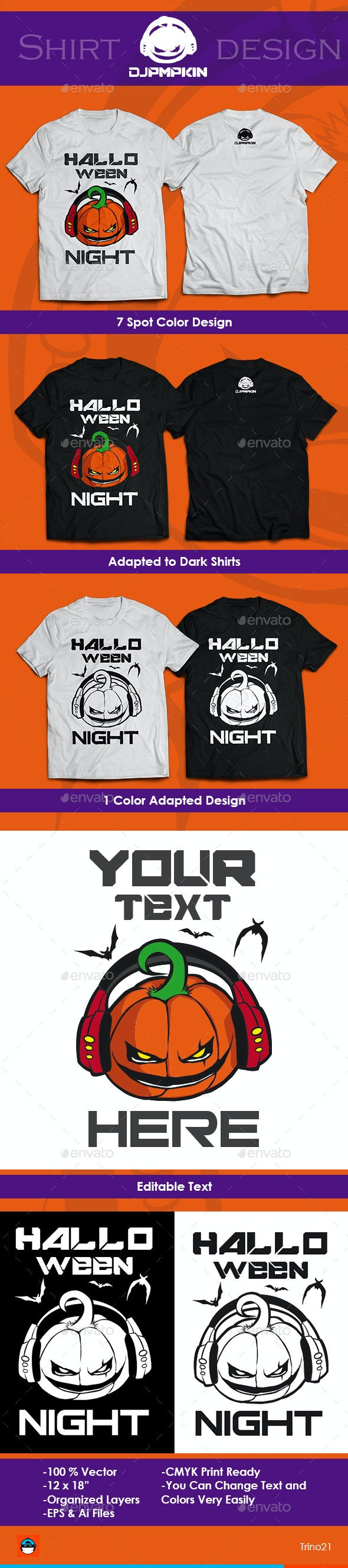 Halloween Shirt - T-Shirts