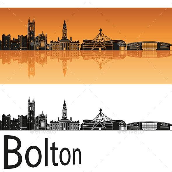 Bolton Skyline  - Buildings Objects
