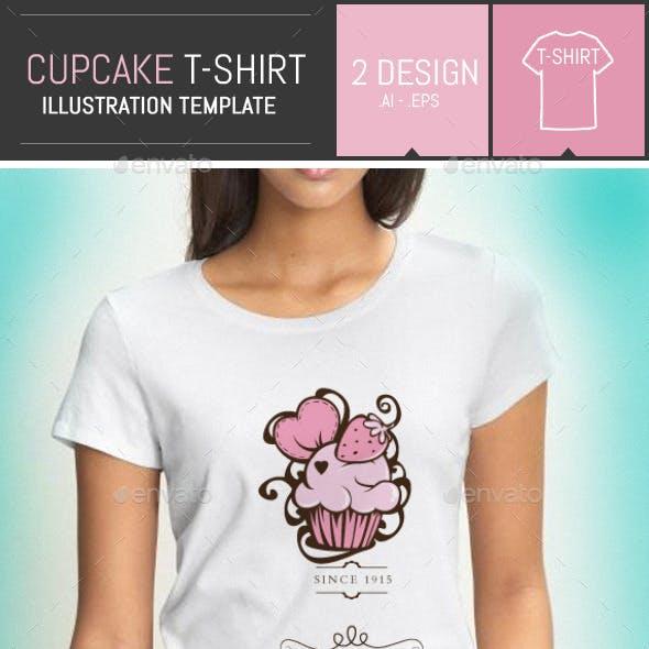 Cupcake / Cake T-shirt