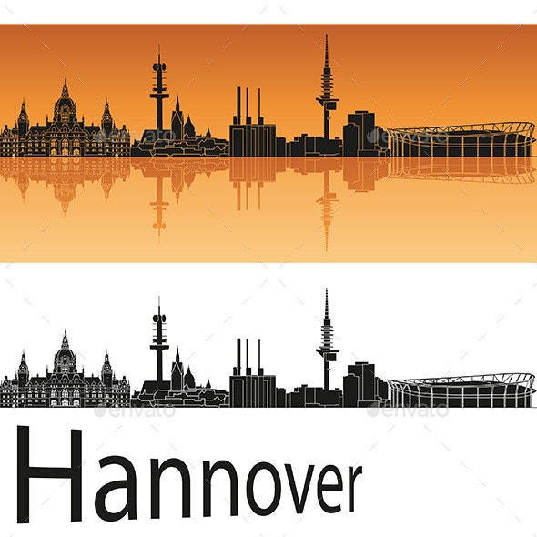 Hannover Skyline - Buildings Objects