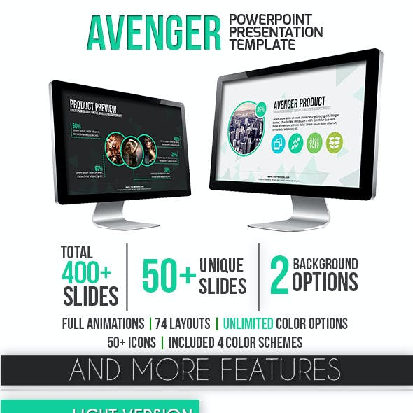 Avenger PowerPoint Template