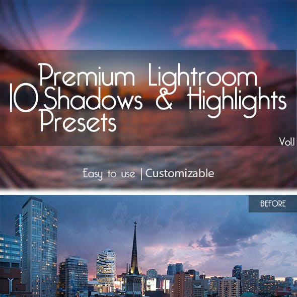 10 Lightroom Presets Vol.1