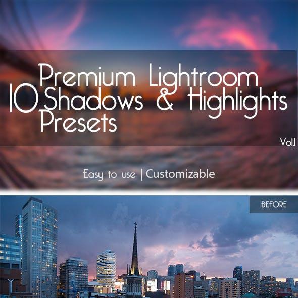 10 Lightroom Presets Vol.1