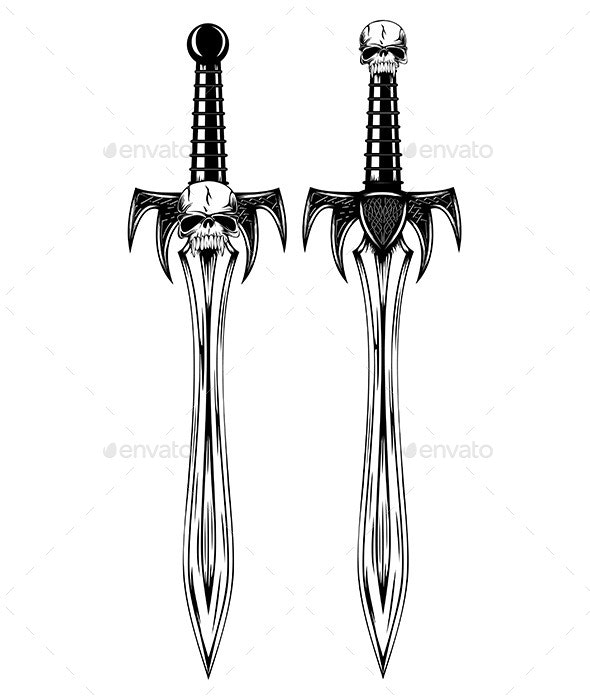 Fantasy Swords  - Man-made Objects Objects