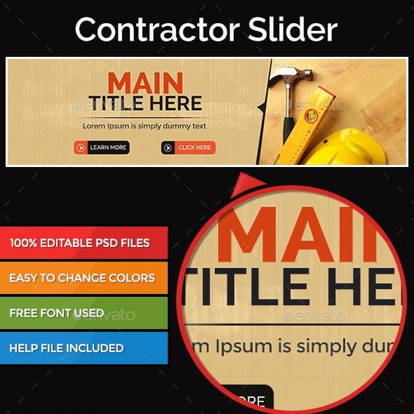 Contractor Slider Image
