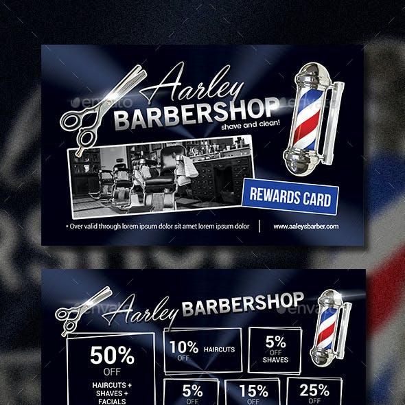 Barbershop Rewards Card
