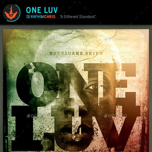 One Love: CD Artwork Template