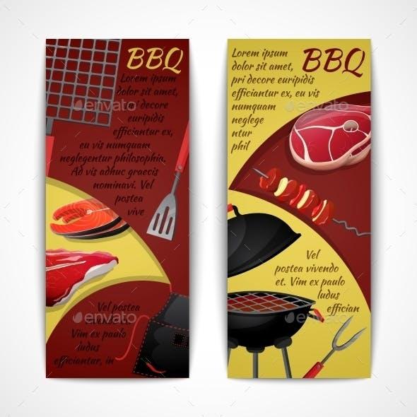 BBQ Banners Set