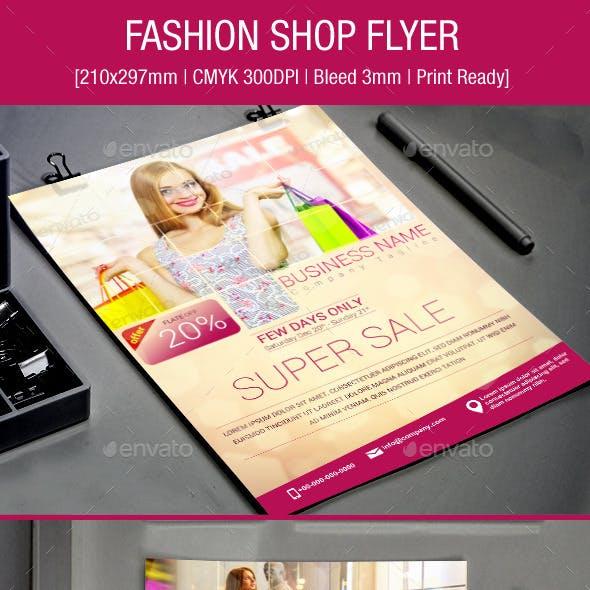 Fashion Shop Flyer