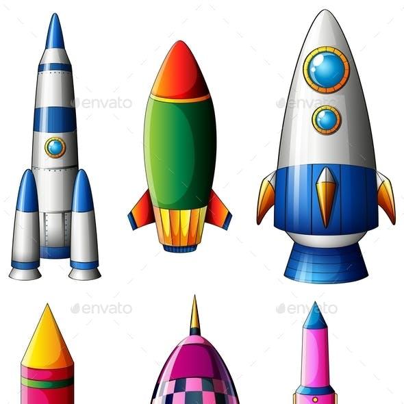 Different Rocket Designs
