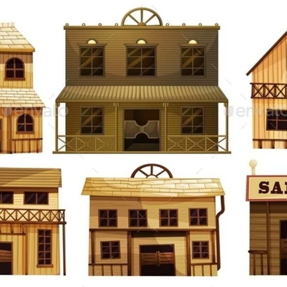 Saloon Bars in the West