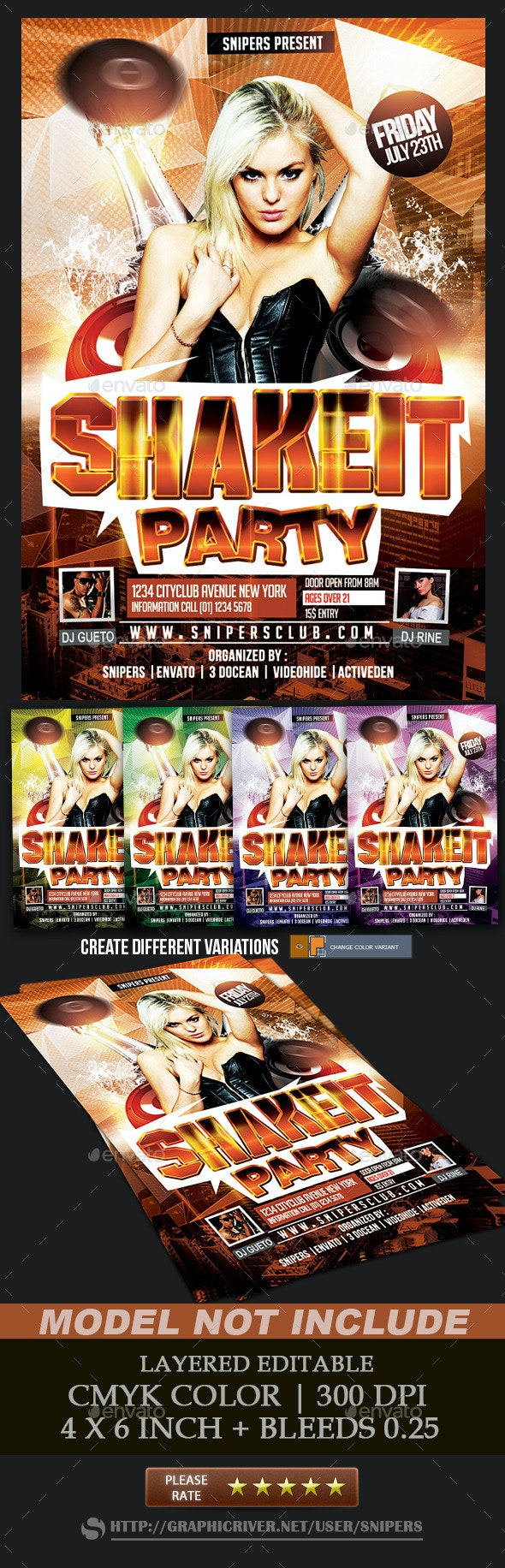 Shake It Party - Clubs & Parties Events