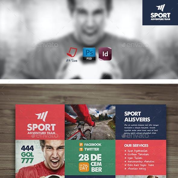 Sport Flyer Templates