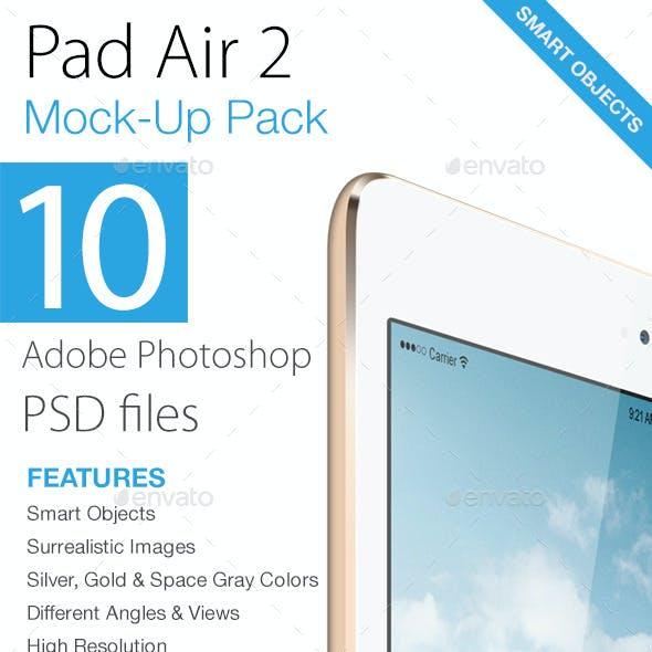 Pad Air 2 Mock-ups Pack