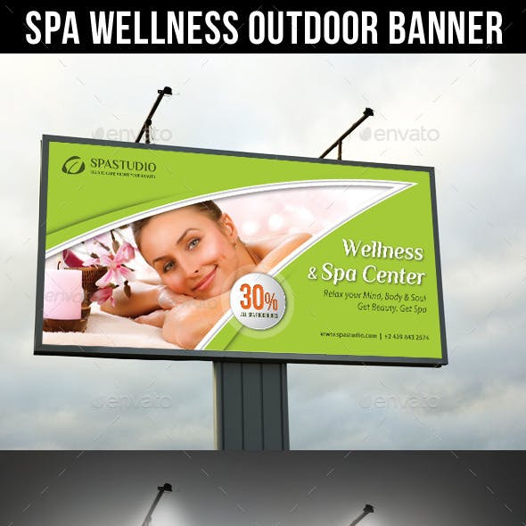 Spa Studio Outdoor Banner 10