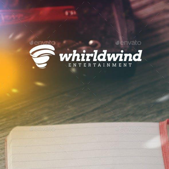 Whirlwind Entertainment Logo