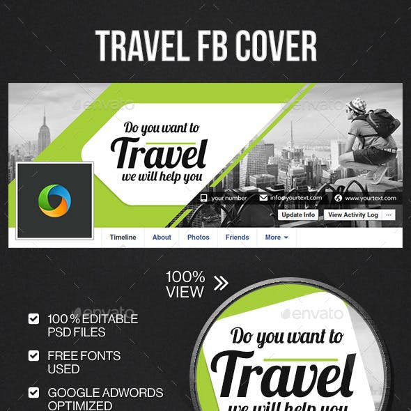 Travel & Facebook Cover Page