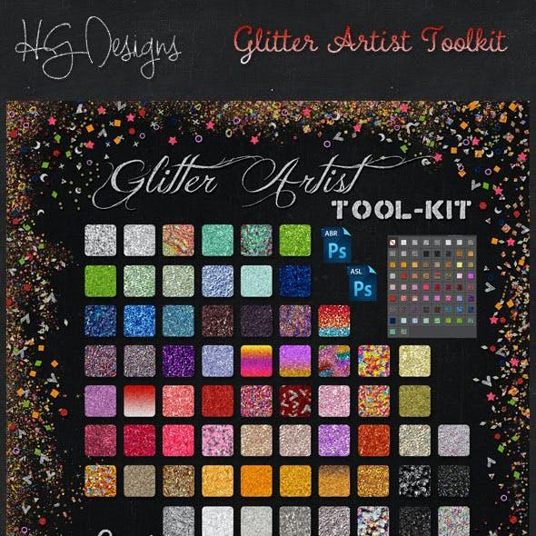 Glitter Artist Toolkit