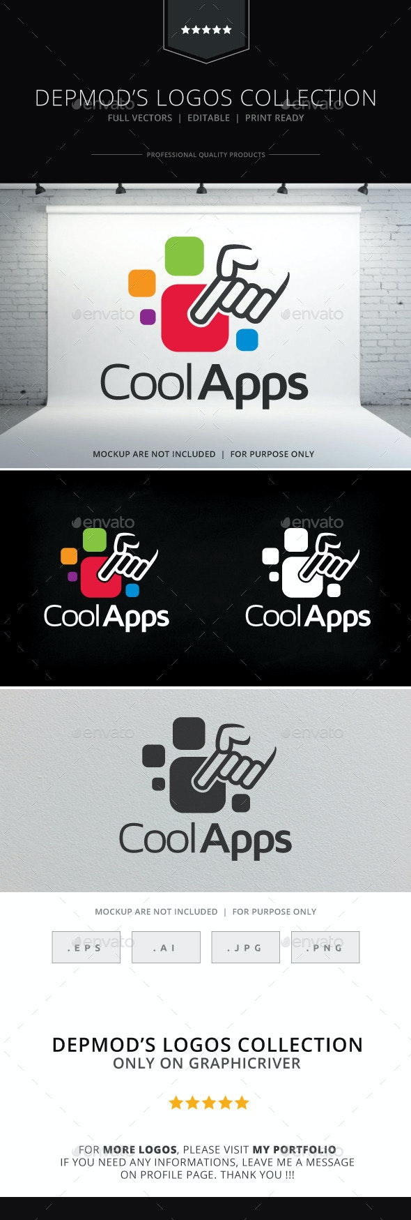 Cool Apps Logo - Symbols Logo Templates