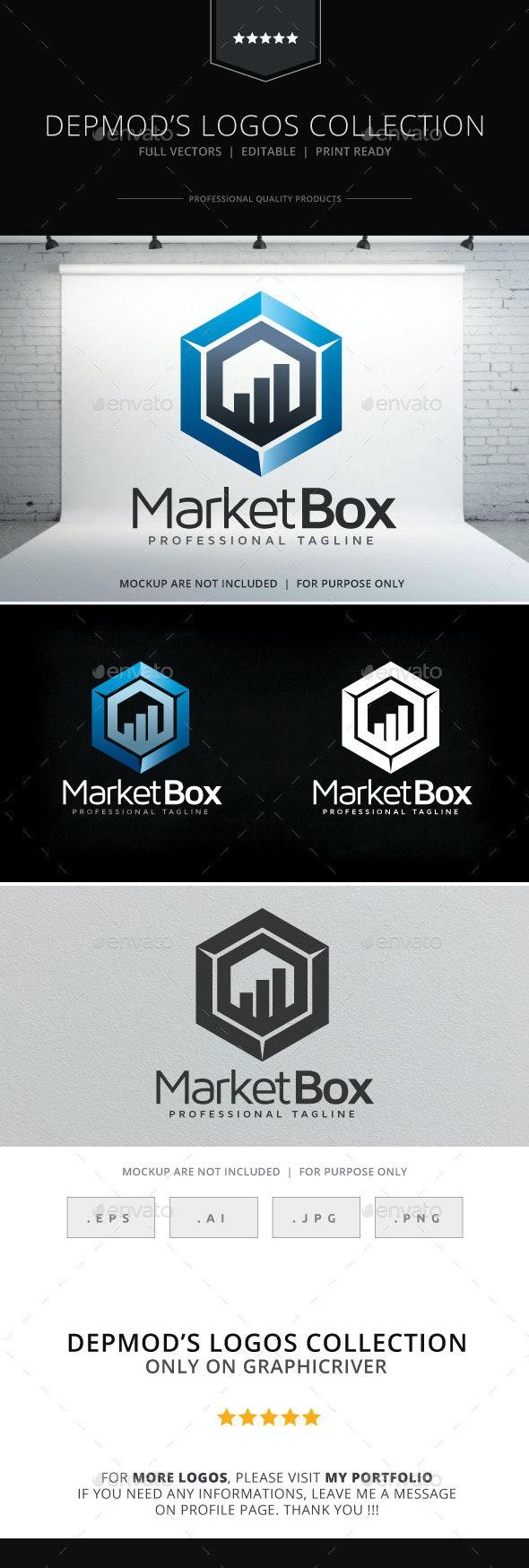 Market Box Logo - Symbols Logo Templates