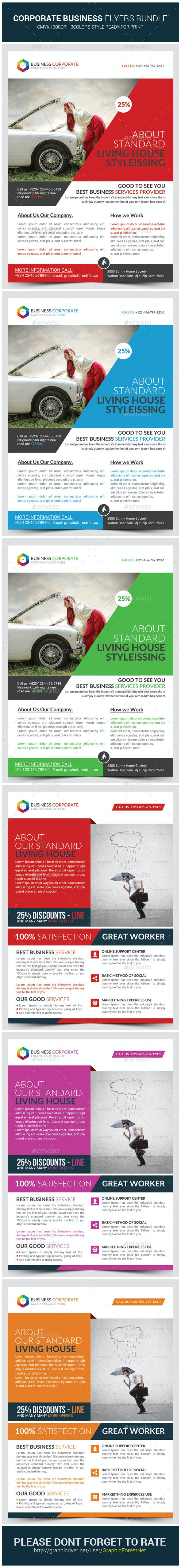 The Corporate Business Flyers Bundle - Corporate Flyers