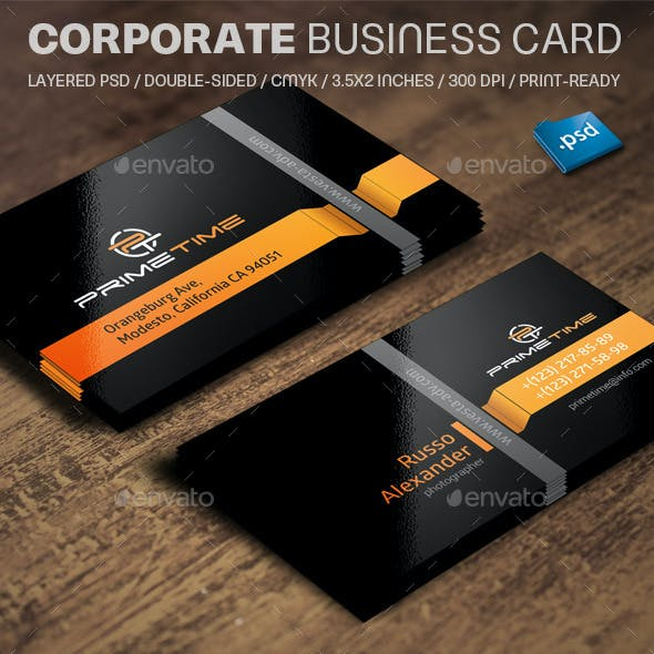 Corporate Business Card V840