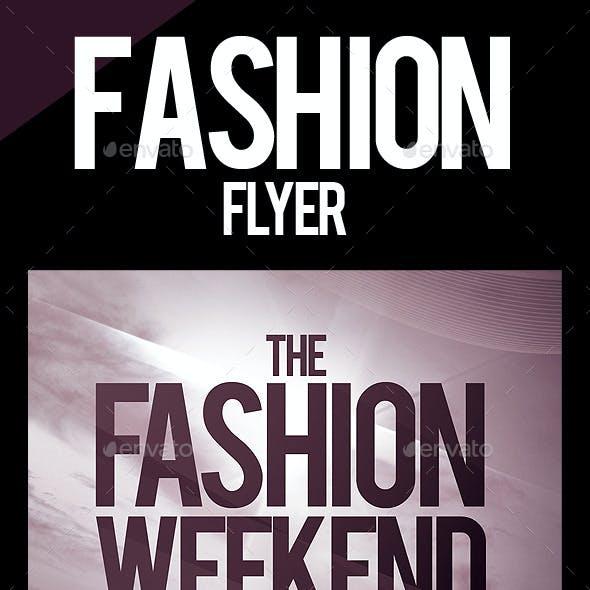 Fashion Weekend Flyer
