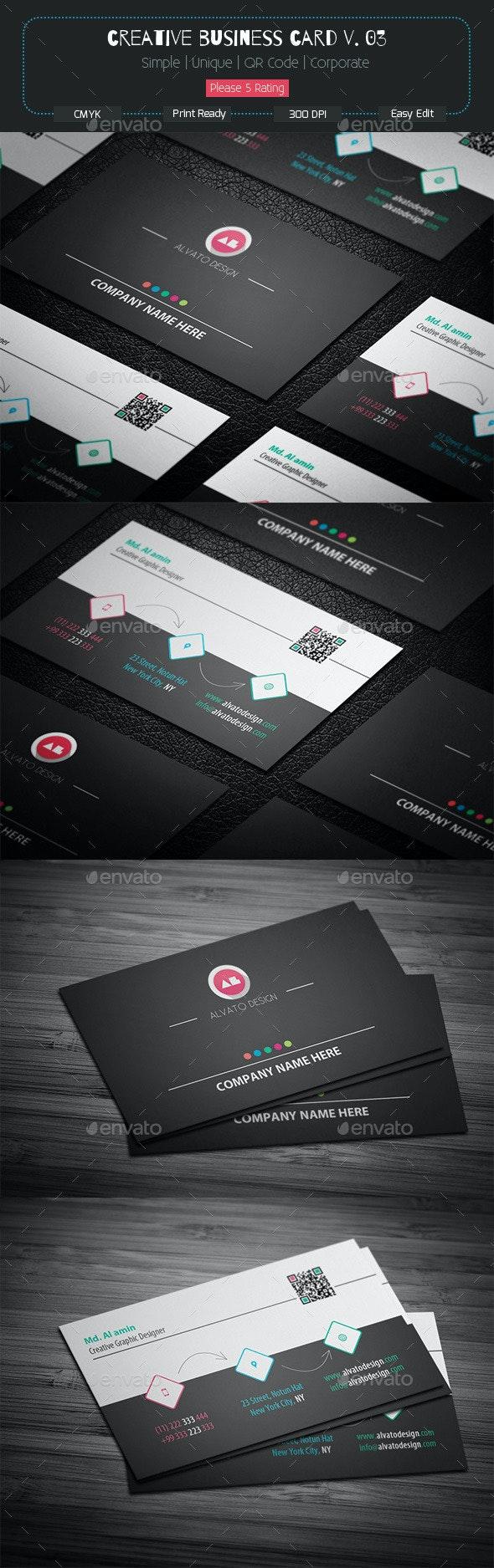 Creative Business Card v. 03 - Creative Business Cards