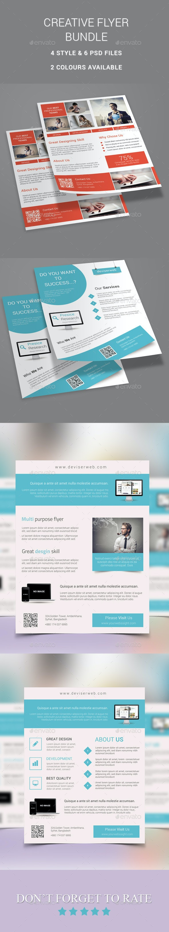 Creative Flyer Bundle - Corporate Flyers