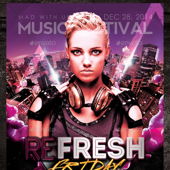 Refresh Friday Flyer