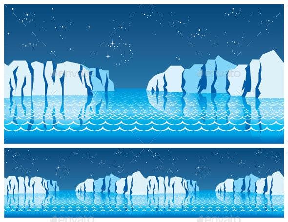 Polar Ice - Landscapes Nature