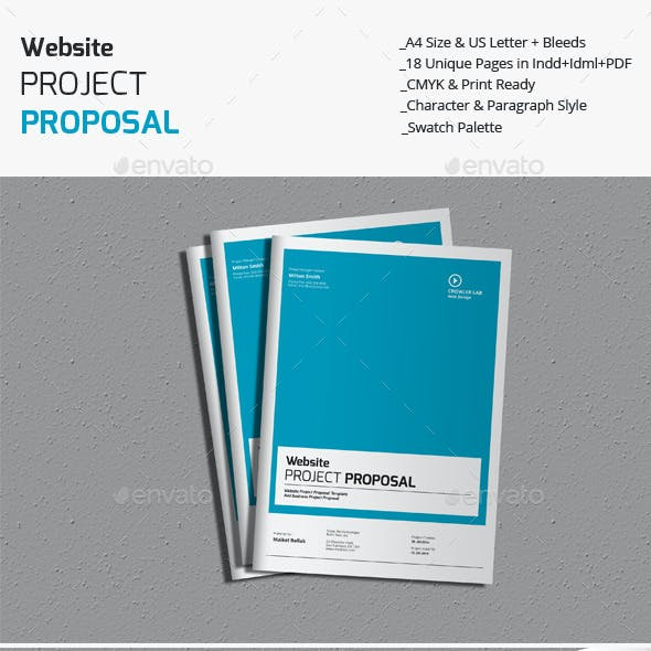 Website Project Proposal Templates