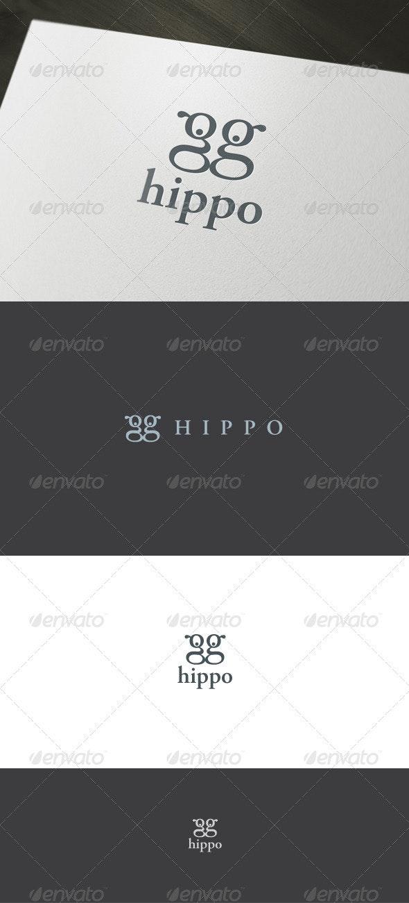Hippo Logo - Letters Logo Templates