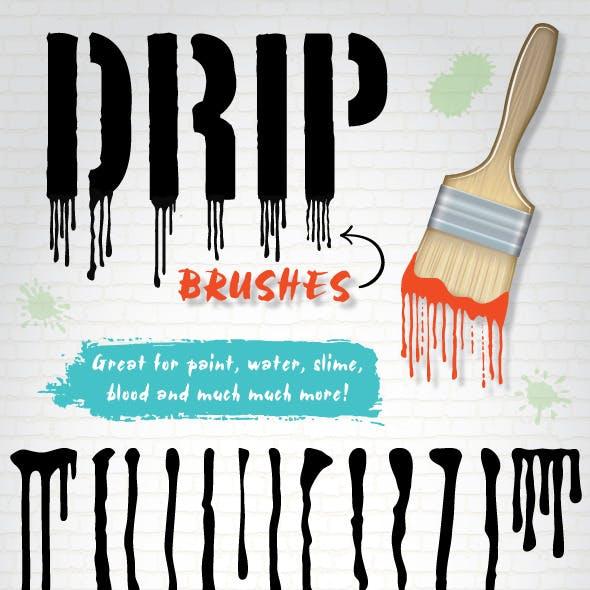 Drip Brushes