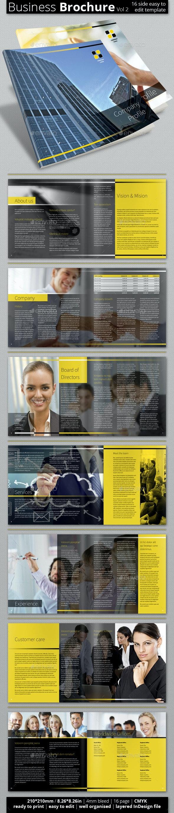 Multipurpose Business Brochure (Vol 2.) - Corporate Brochures