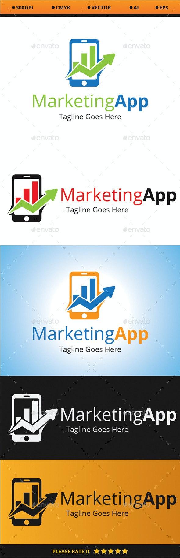 Marketing App - Logo Templates