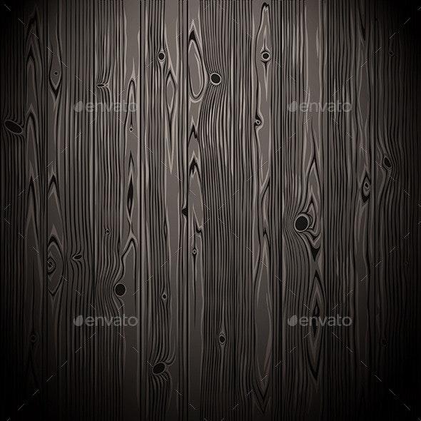 Dark Wood Seamless Pattern - Patterns Decorative