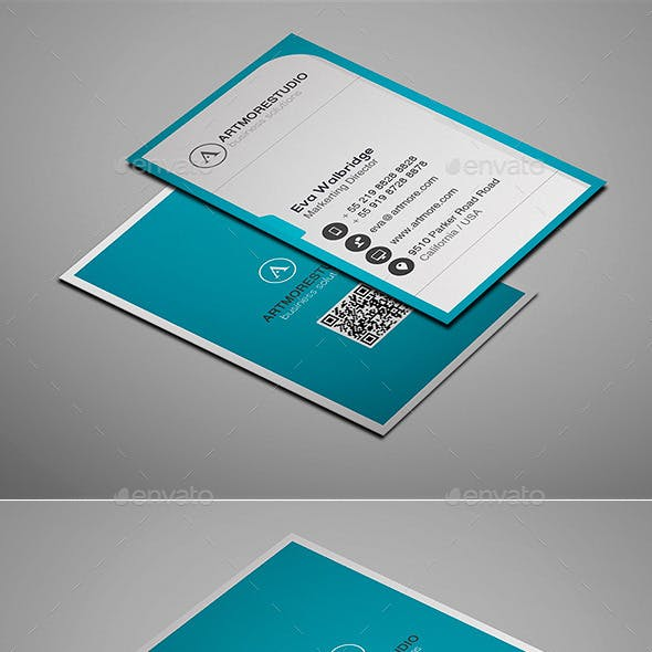 Simple Business Card Vol. XIII