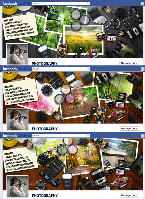 Photographers Facebook Timeline Cover - Facebook Timeline Covers Social Media