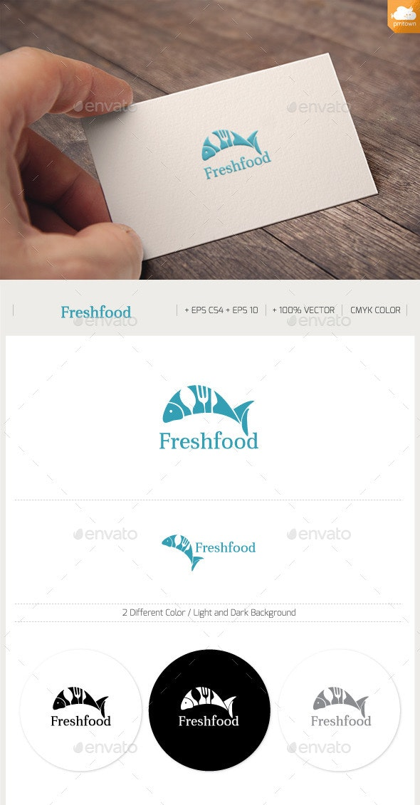 Fresh Food - Food Logo Templates